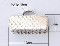 Klemmetje plat ijzer metaal platina