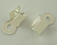 Veterklemmetje ijzer metaal zilver