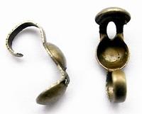 Kalotje met haakje ijzer brons