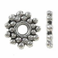 Spacer zink alloy zilver